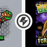 Cool Tees:  Vintage Raphael vs. The Beast on Sale TODAY ONLY! [pic]