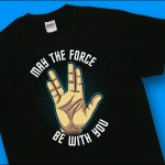 Fans of Both Star Trek and Star Wars Will Love This T-Shirt [pic]