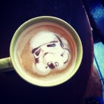 Awesome Stormtrooper Latte Art