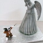 You Won't Want to Take Your Eyes Off This Amazing Weeping Angel Cake