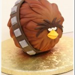 Awesome Angry Birds Star Wars Chewbacca Bird Cake