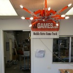 Awesome NES Zapper Chandelier