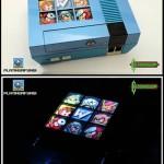 Amazing Back-lit Mega Man 2 NES Console Mod