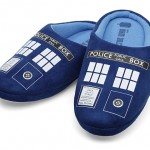 Keep Your Feet Warm With These Doctor Who TARDIS Slippers