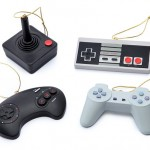 Video Game Controller Christmas Tree Ornament Set