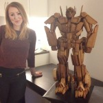 Award Winning Gingerbread Optimus Prime