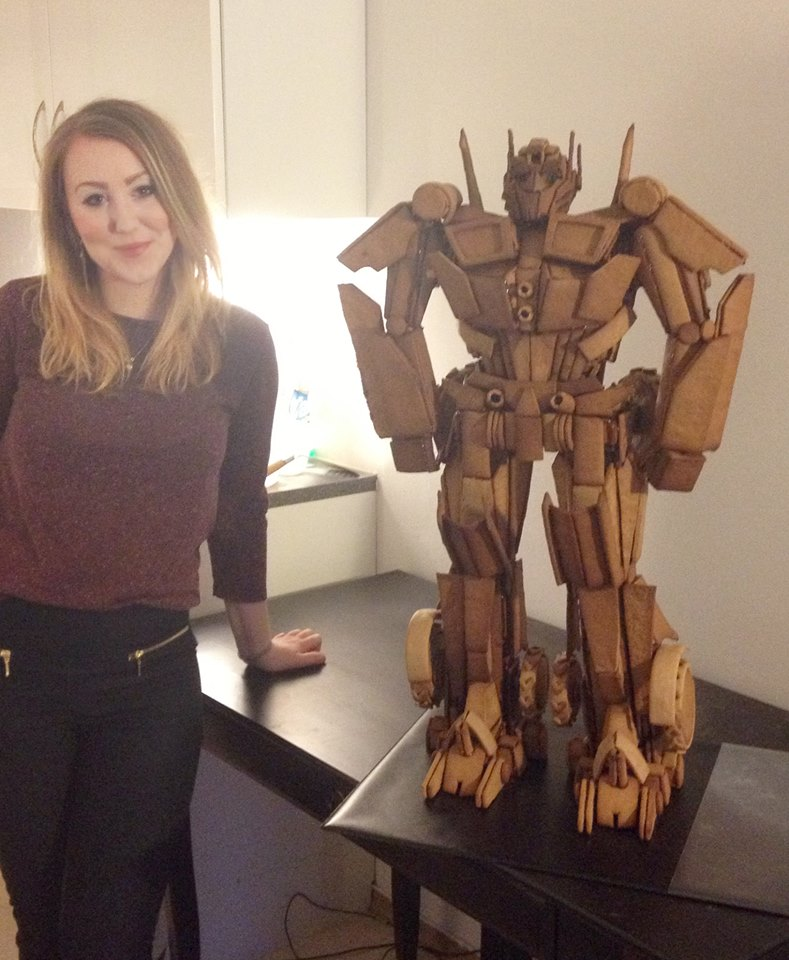 Gingerbread Optimus Prime