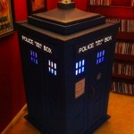 This Fantastic TARDIS Jukebox is Made From Recycled Boxes