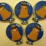 Delicious Looking Balloon Shaped Dalek Cookies