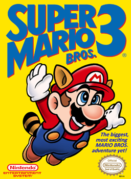 Super Mario Bros 3 Box Art