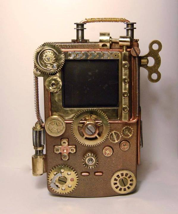 Steampunk Nintendo Game Boy