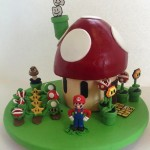 A Sweet Super Mario Bros Cake