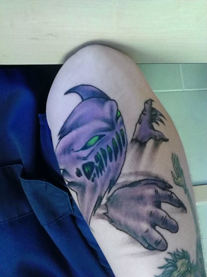 Pokemon Haunter Tattoo