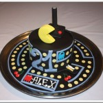 Awesome Pac-Man Birthday Cake
