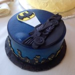 Sweet Batman Groom's Cake