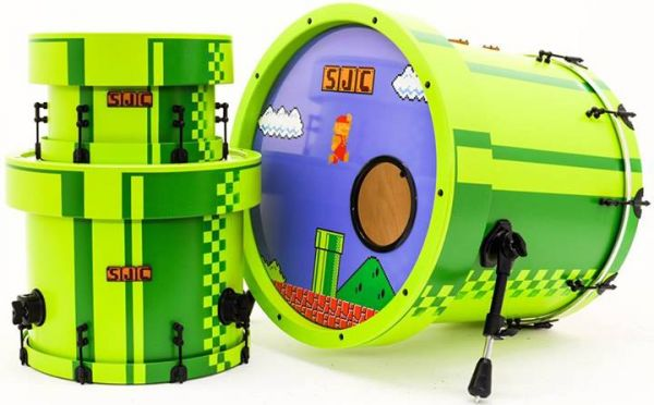 Super Mario Bros Drums