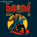 Doctor Who Comic Style Tee $11 Today Only!