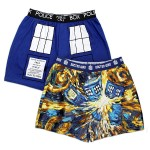 Doctor Who Exploding TARDIS Boxers