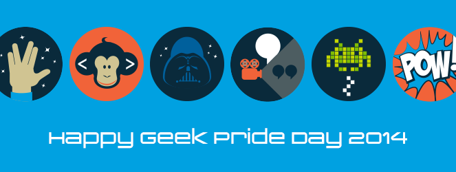 Geek Pride Day 2014