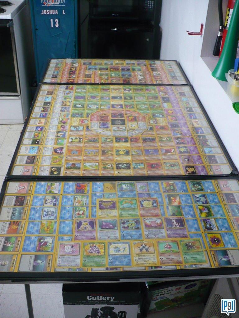 Pokemon Beer Pong Table