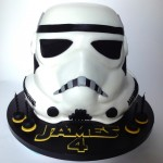 Amazing Stormtrooper Birthday Cake