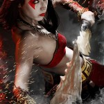 Epic Female Kratos God of War Cosplay