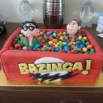 Big Bang Theory Ball Pit Cake