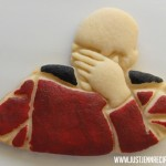 Picard Faceplam Cookies