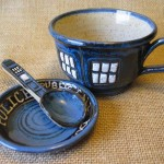 A TARDIS Teacup Perfect For The Doctor's Timey Wimey Tea Time