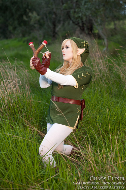 Legend of Zelda Female Link Cosplay