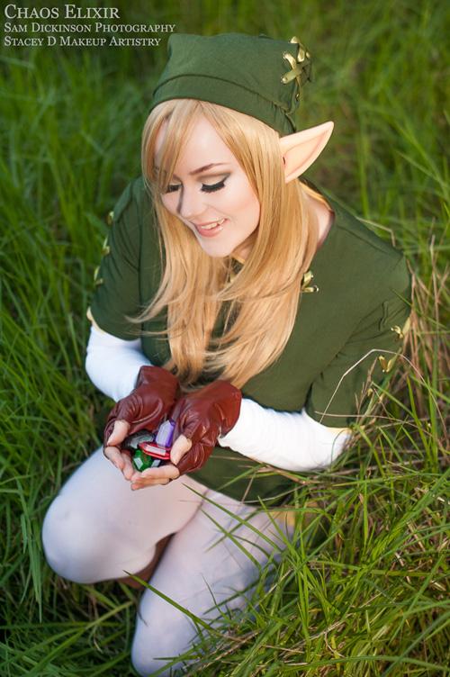 Legend of Zelda Female Link Cosplay