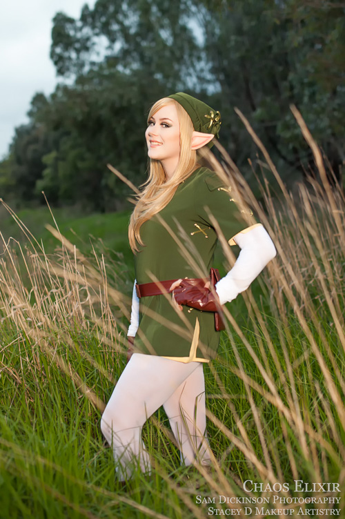 Legend of Zelda Lady Link Cosplay