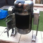 DIY R2-D2 Wood Burning Stove