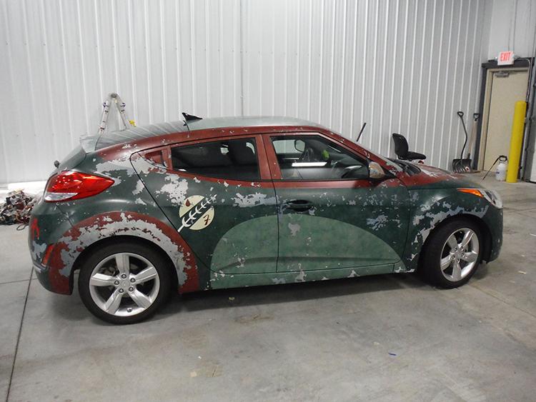 Boba Fett Hyundai Veloster