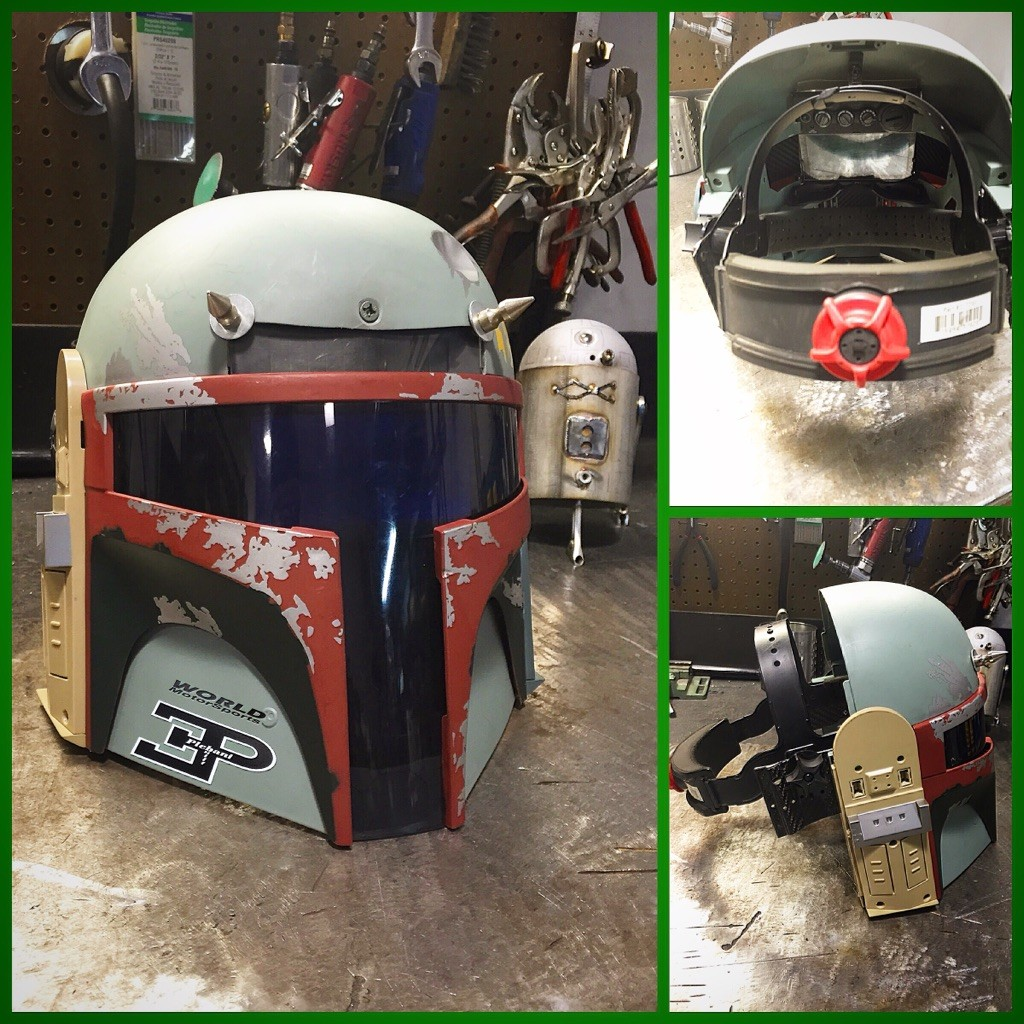 Star wars welding helmet