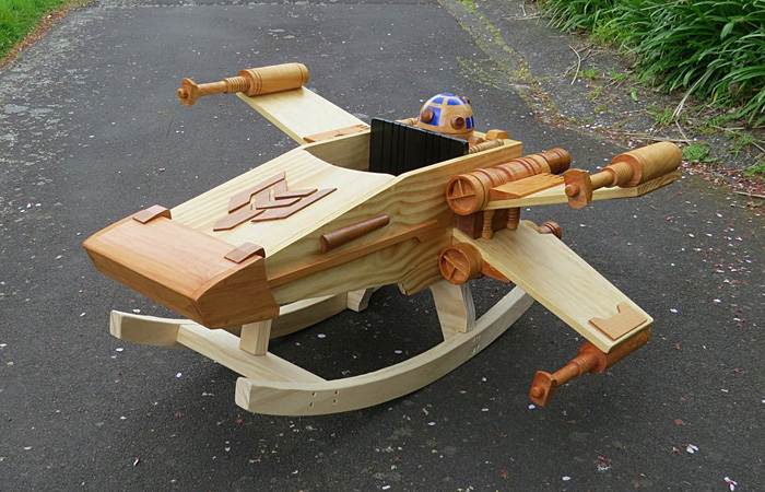 Star Wars X-Wing Baby Rocker