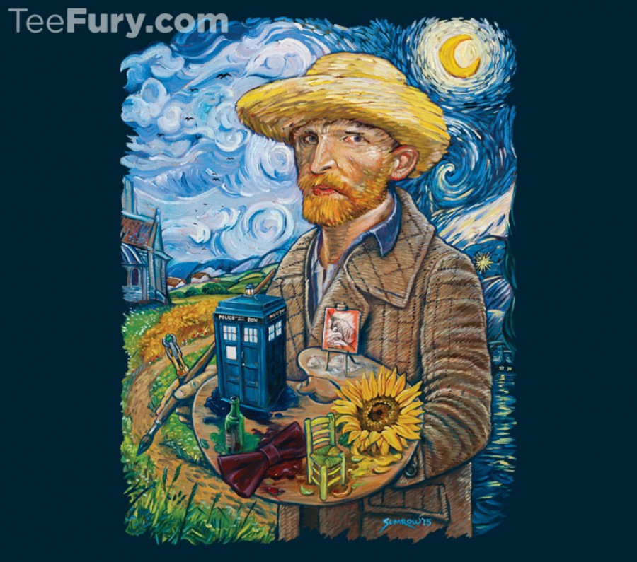 Van Gogh Who T-Shirt