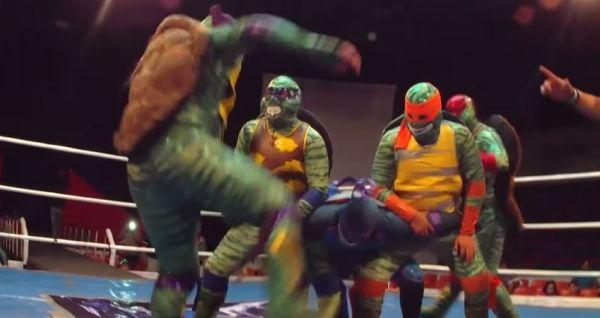 TMNT Wrestlers
