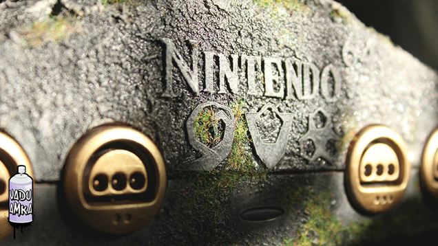 Nintendo 64 Legend of Zelda: Ocarina of Time console mod