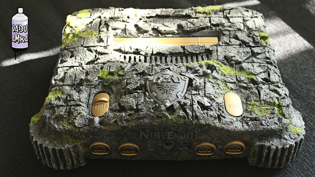 Nintendo 64 Legend of Zelda: Ocarina of Time console mod