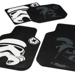 Star Wars Stormtrooper and Darth Vader Automotive Floor Mats