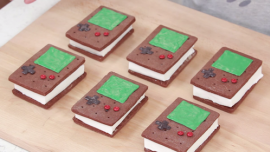 Game Boy Ice Cream Sandwiches