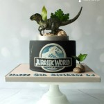 This Jurassic World Velociraptor Cake is Amazing!