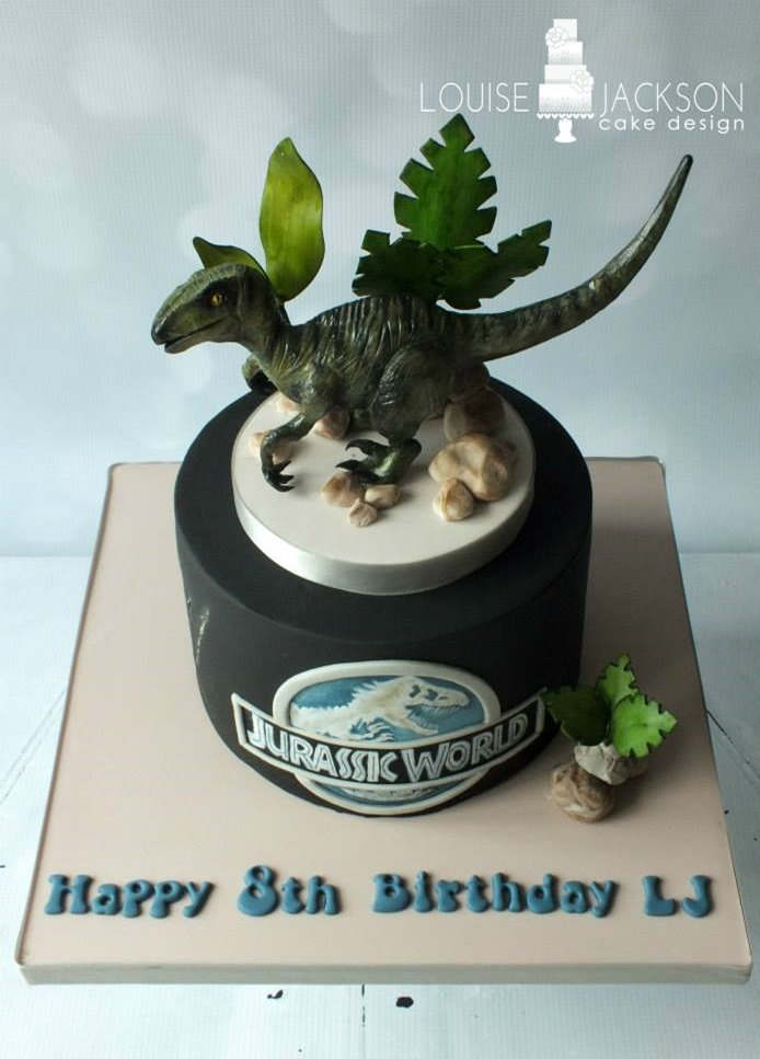 Jurassic World Raptor Cake