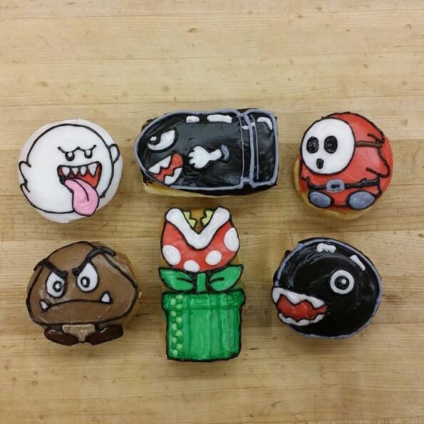 Super Mario Bros Donuts