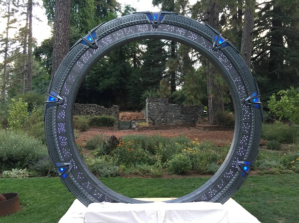 Stargate SG-1 Wedding Arch