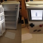 This Mini-Fridge Has Been Turned Into A Playable GameBoy
