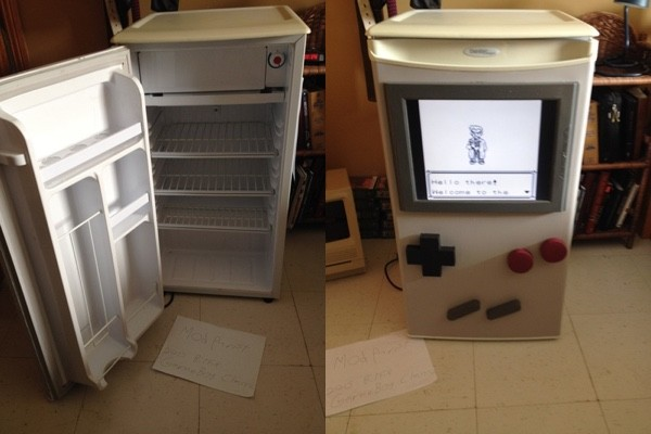 Cold Boy Mini-Fridge