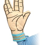 Bake It So With This Spock Vulcan Salute Oven Mitt!