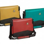 Amazing Star Trek TNG Uniform Messenger Bags